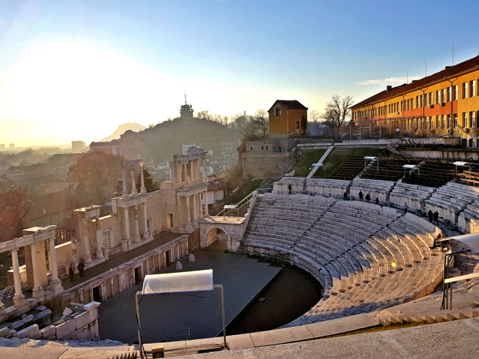 Roman amphitheater, Plovdiv